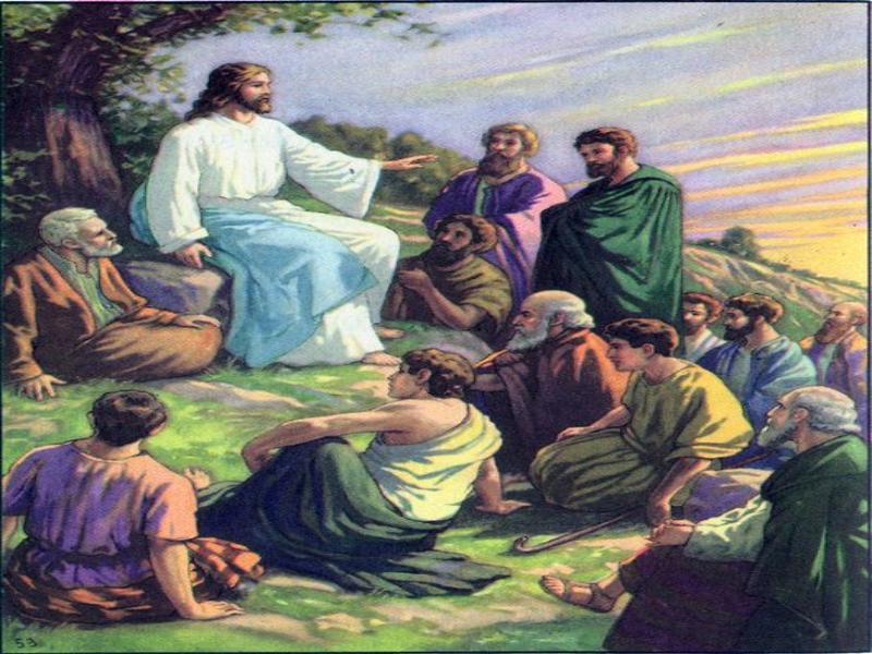 Resultado de imagen de imágenes de Jesus predicando