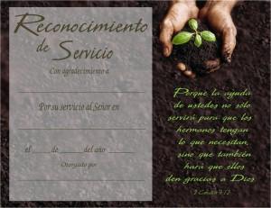 Certificado de servicio