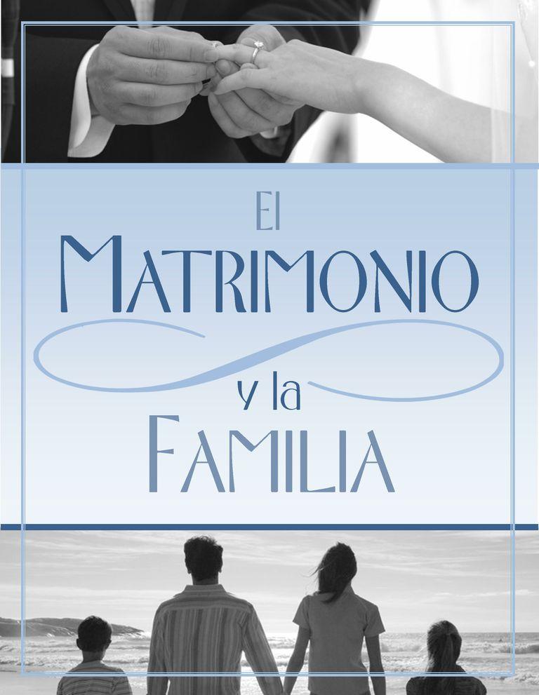 Matrimonio Y Familia : El matrimonio y la familia obrerofiel