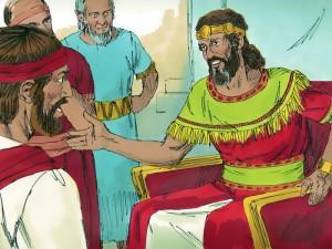 La parabola de Natan revela el pecado de David