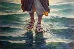 Cómo es que Jesús caminó sobre el agua