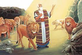 Daniel y el foso de leones